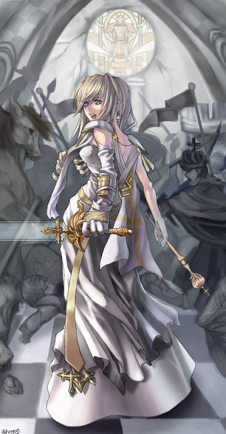 Anime Queen Of Light White Queen –...