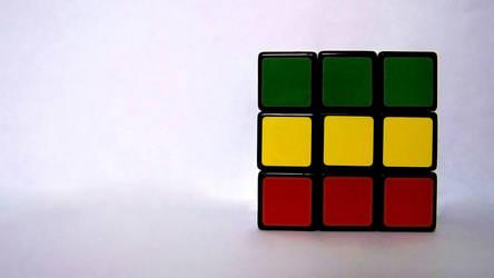 Rasta Rubik's Cube by rememo08