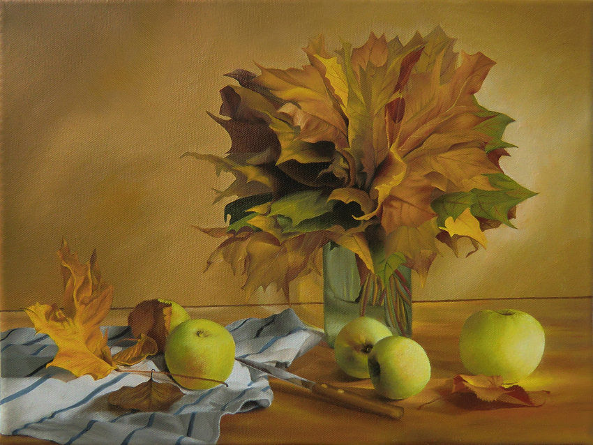 Autumn Still Life by discret