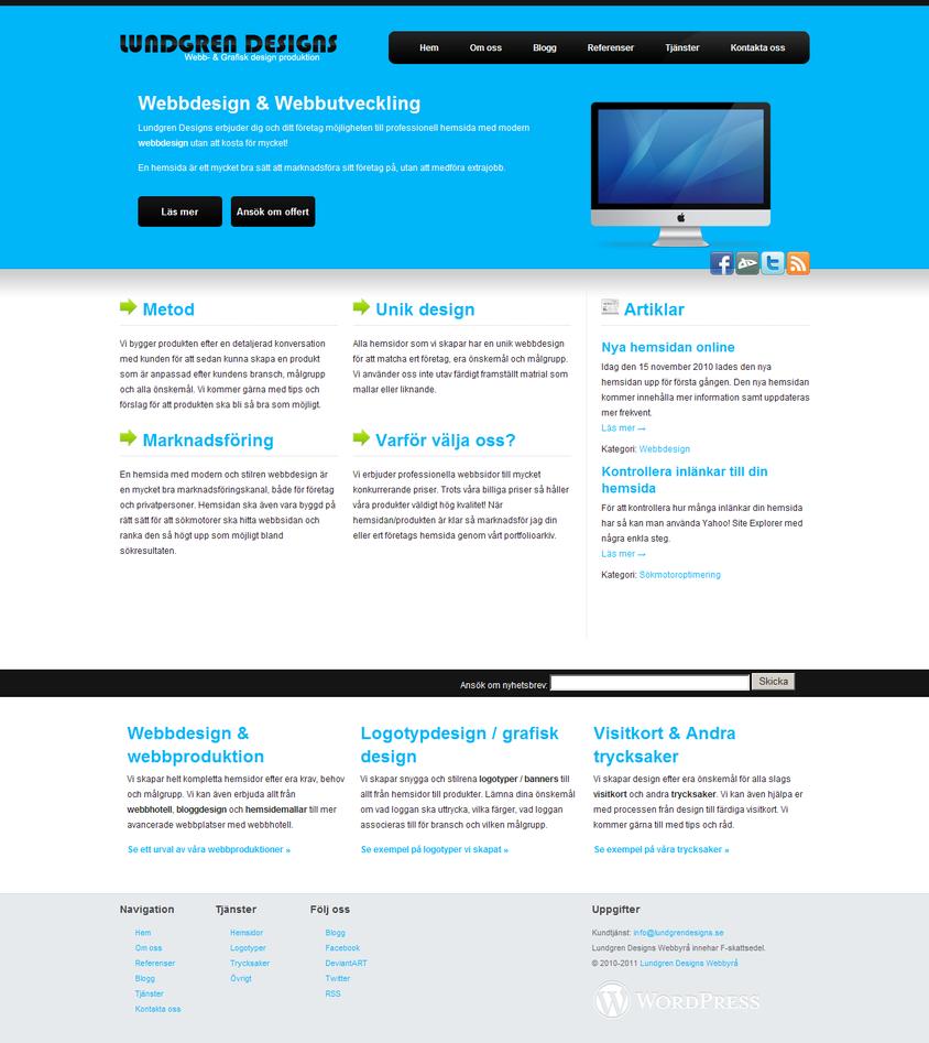 Webbdesign & Grafisk form - LundgrenDesigns.se - http://www.lundgrendesigns.se