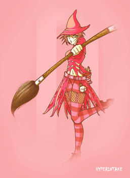 Pink Witch