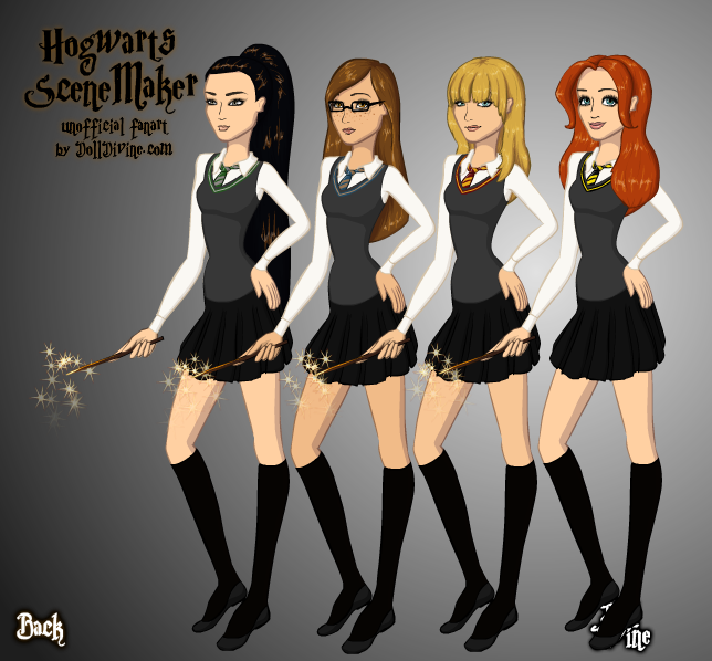 The Girls of Hogwarts by SugarLandBabyGirl