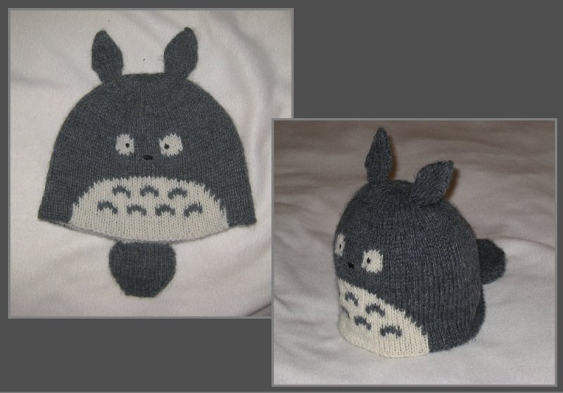 Totoro Knit Hat by kamidake on DeviantArt