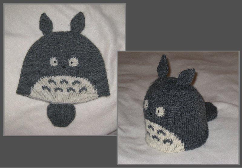 Totoro Knit Hat By Kamidake On Deviantart