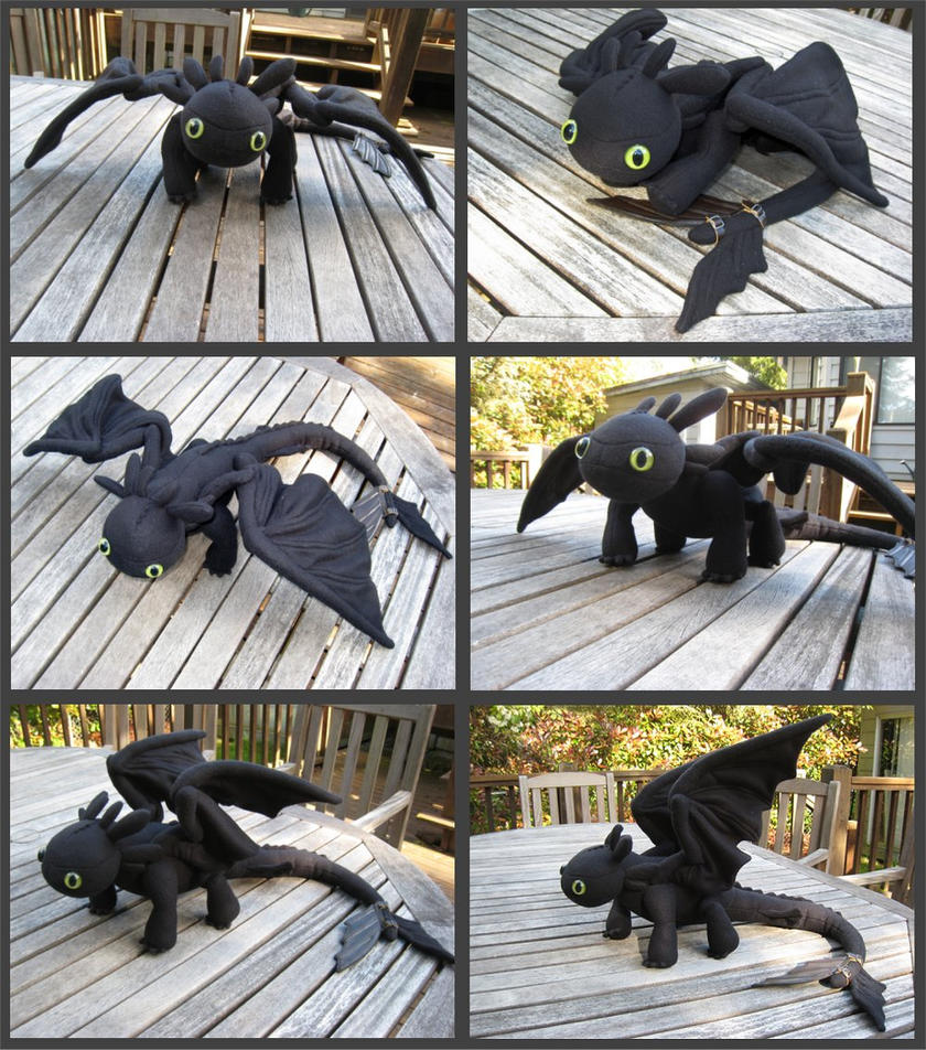 how to train your dragon toothless merchandise
