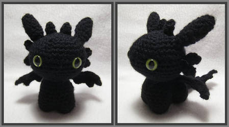 Night Fury Amigurumi by kamidake