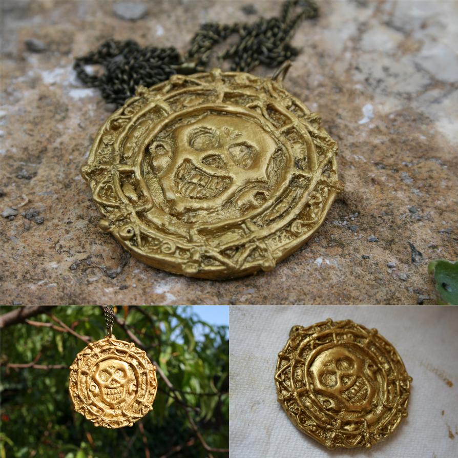 Aztec Gold Jewelry Aztec gold medaillon