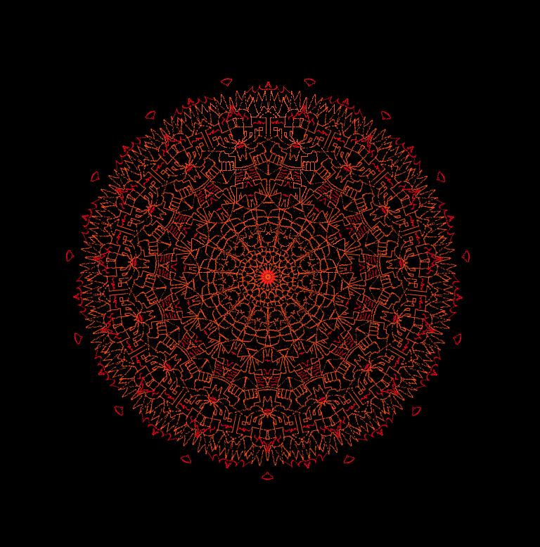 Mandala91 by DimXenon