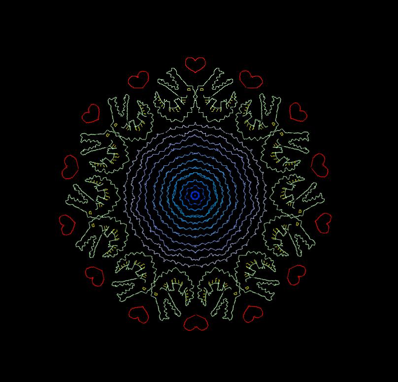 Mandala87 by DimXenon
