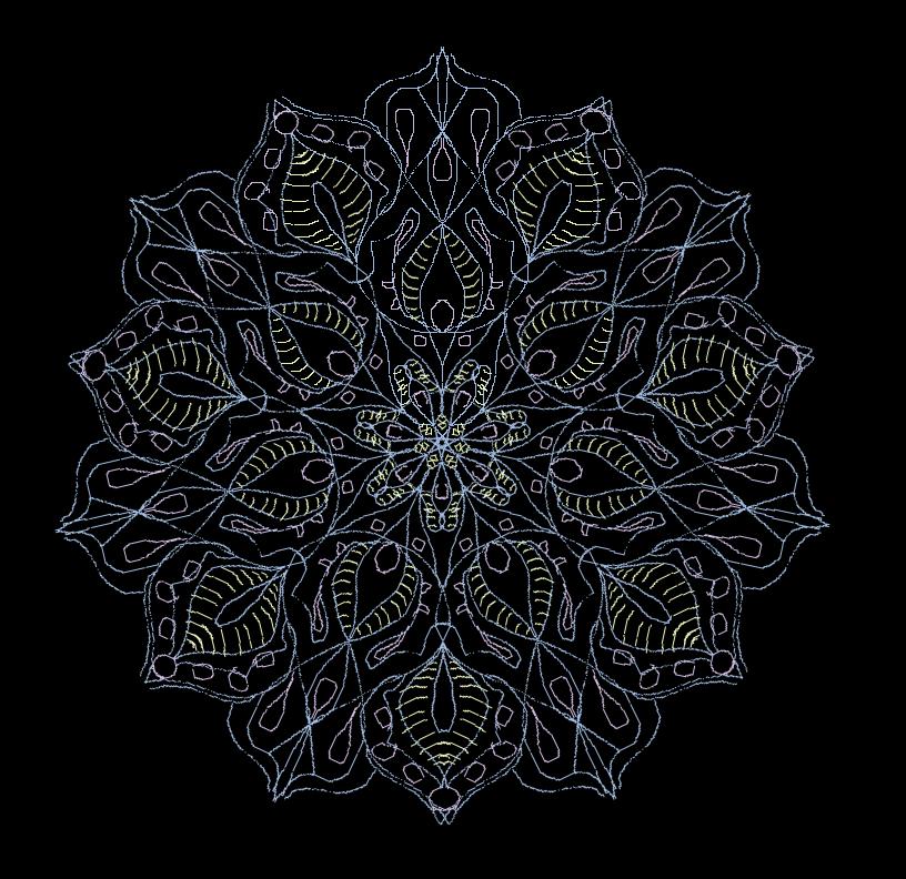 Mandala90 by DimXenon