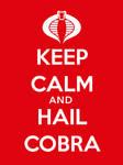 Keep Calm and Hail Cobra