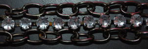 Chain and Gems by ellemacstock