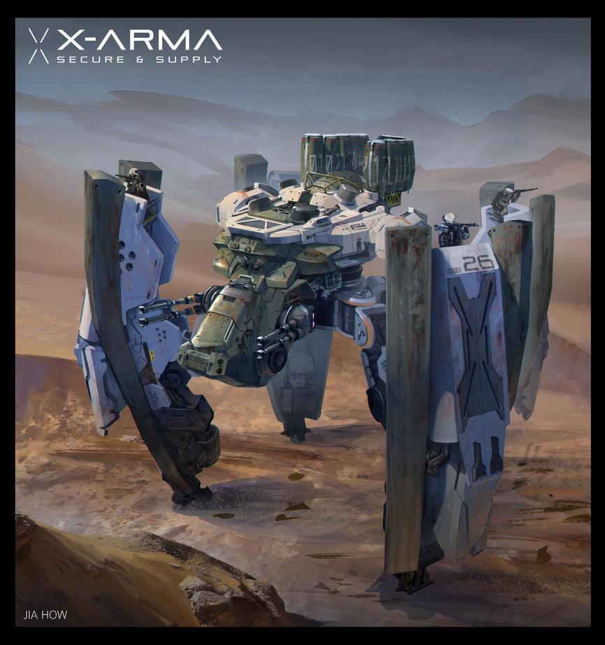 X-arma 1 by Jiahow