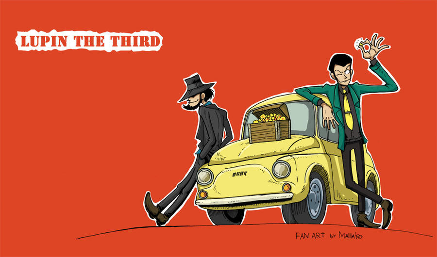 Lupin III by Masha-Ko