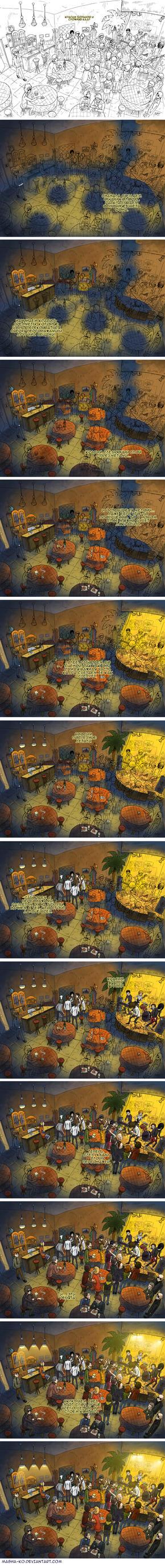 big frame of comics Stages by Masha-Ko