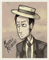 buster keaton by Masha-Ko