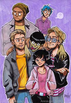Gorillaz family