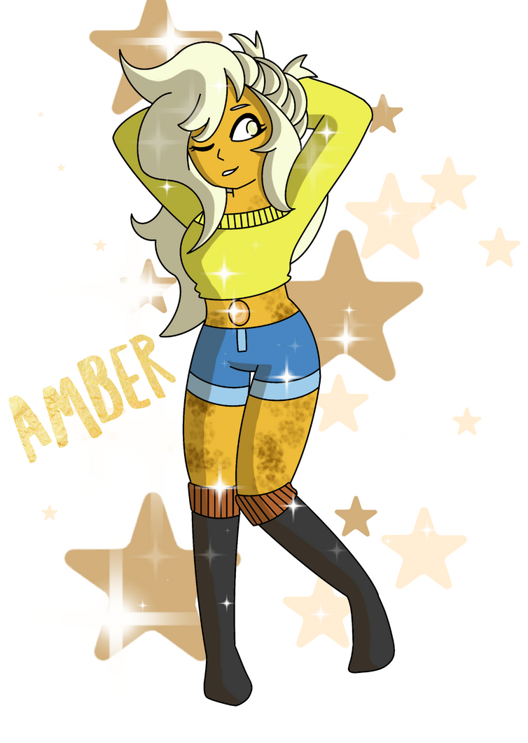 Amber (OC request) by thekodakirk