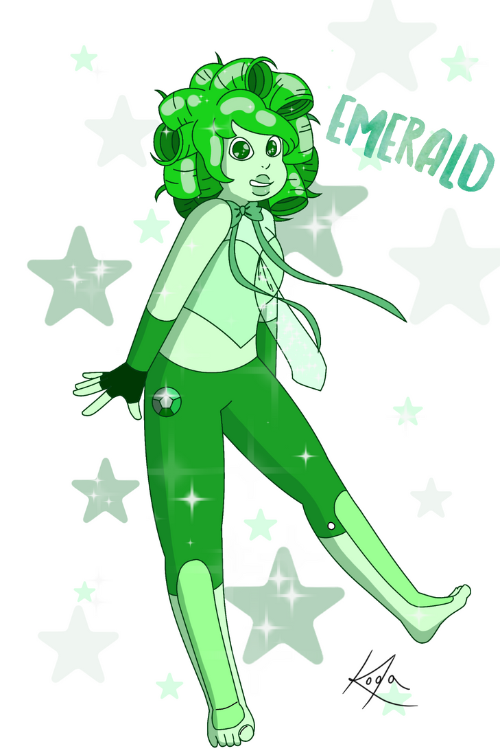 Emerald (Request) by thekodakirk