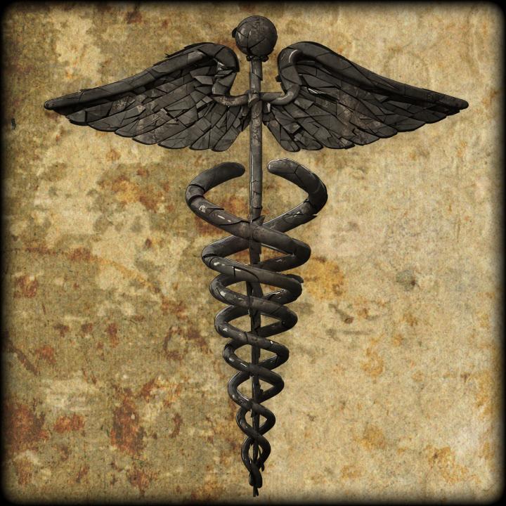 3d Medical Art 3d Medical Symbol Old by