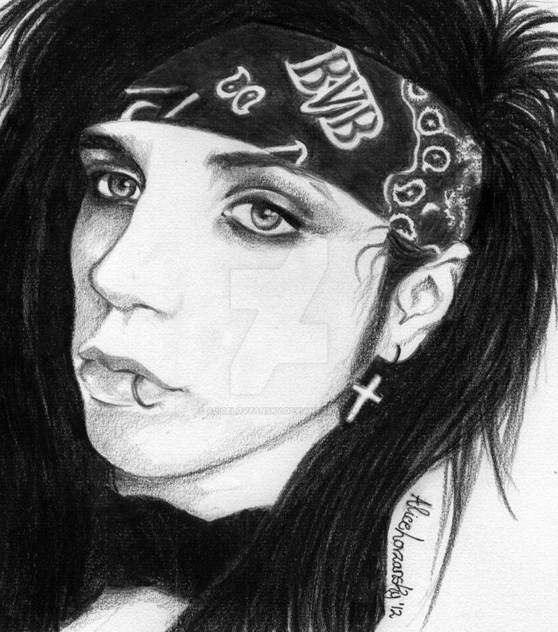 Andy Biersack  by AliceLovzanskyEasy Andy Biersack Drawing