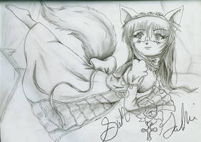 Kitten the Cat by OniYoi