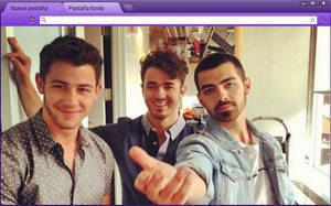 Jonas Brothers Theme (Google Chrome) by RoohBieber