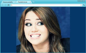 Miley Cyrus Theme (Google Chrome) by RoohBieber