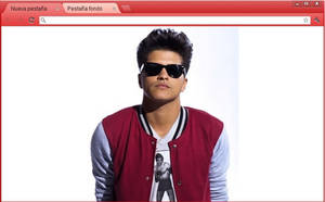Bruno Mars Theme (Google Chrome) by RoohBieber