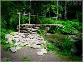 in the forest by Hrymmskrymnir