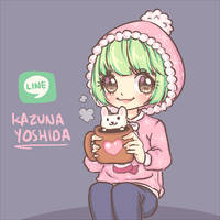 kazuna yoshida avatar 1 || Line play