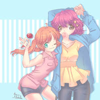 kaleido Stars sisters