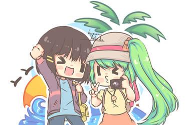 Kazuna and Amirooze vocation