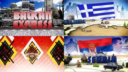 Balkan Express Title Sequence