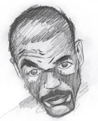 Joel Casamayor Sketch by Pound4Pound