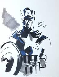 Captain America by Pound4Pound