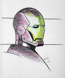 Iron Man by Pound4Pound