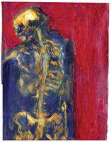 Red Skeleton by Bat-Dan