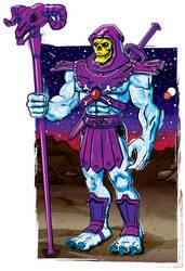 Skeletor Overlord of Evil by Bat-Dan