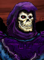 Skeletor final by Bat-Dan