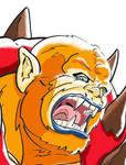 Beastman face
