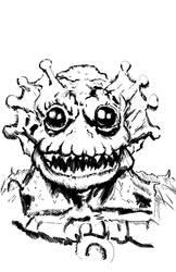 Mer-Man sketch by Bat-Dan