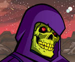 Skeletor portrait