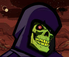 Skeletor Portrait Dark(er) by Bat-Dan