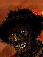 Scarecrow (in color) by Bat-Dan