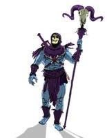 Skeletor Surveying by Bat-Dan