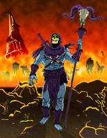 Skeletor Triumphant by Bat-Dan