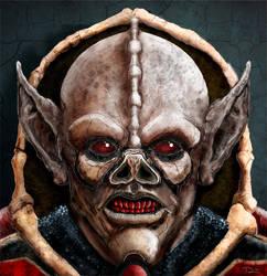 Hordak: Ruthless Leader of the Evil Horde by Bat-Dan