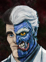 Two-Face by Bat-Dan