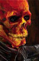 Red Skull by Bat-Dan